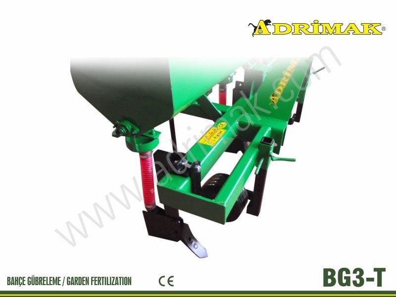 Üç Sıralı Tekerlekli Gübre Makinası(BG3-T)